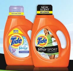 Free Tide with Febreze sample