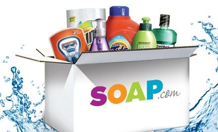 Today only on Groupon: $10 gets you a $20 Soap voucher!