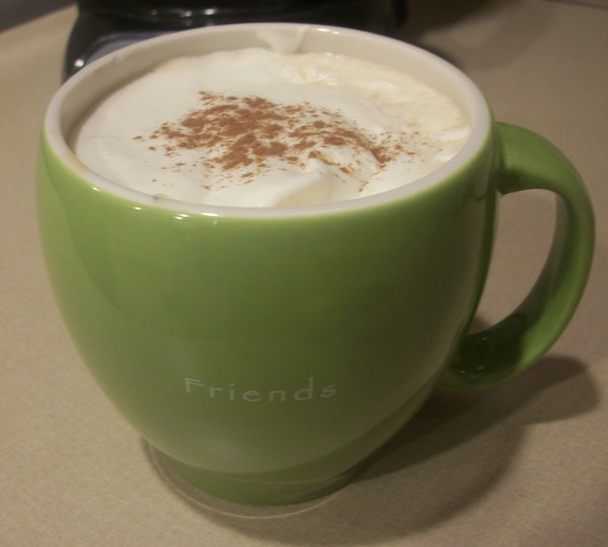 Egg Nog Using Heavy Cream: Starbucks Egg Nog Latte Hack