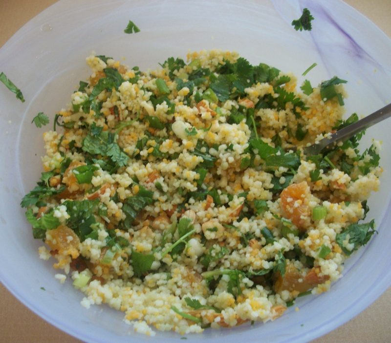 Apricot Tri-Color Couscous: YUM