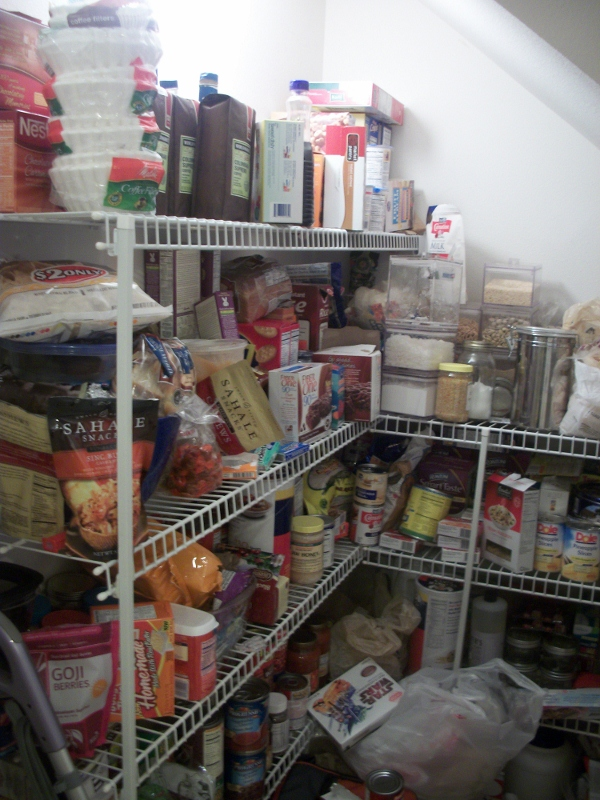 Organizing My Stockpile Creating A Food Inventory List The Coupon Project