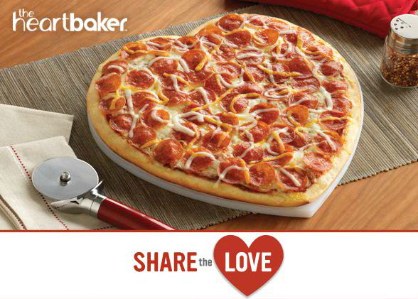 (It's Back!) Heart-Shaped Pizza at Papa Murphy's