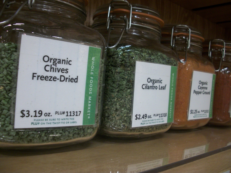 Bulk Spices at Whole Foods Market