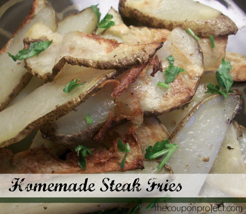 Easy Homemade Steak Fries | The Coupon Project