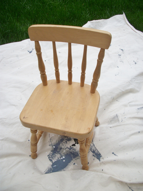 My Super Easy DIY Chair: $9 start to finish!