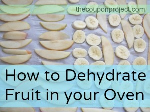 How to Dehydrate Fruit in the Oven | The Coupon Project