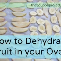 Adventures in Homesteading: Simple Fruit Dehydration