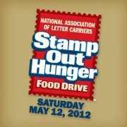 Stamp Out Hunger: this Saturday, May 12th!