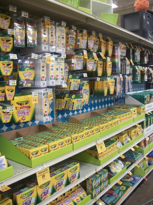 Fred Meyer School Supplies