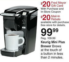 Fred Meyer NW Coupon Deals 9/30 10/6: Cheap Cantaloupe, Starbucks Coffee, CRAZY HOT Keurig sale!