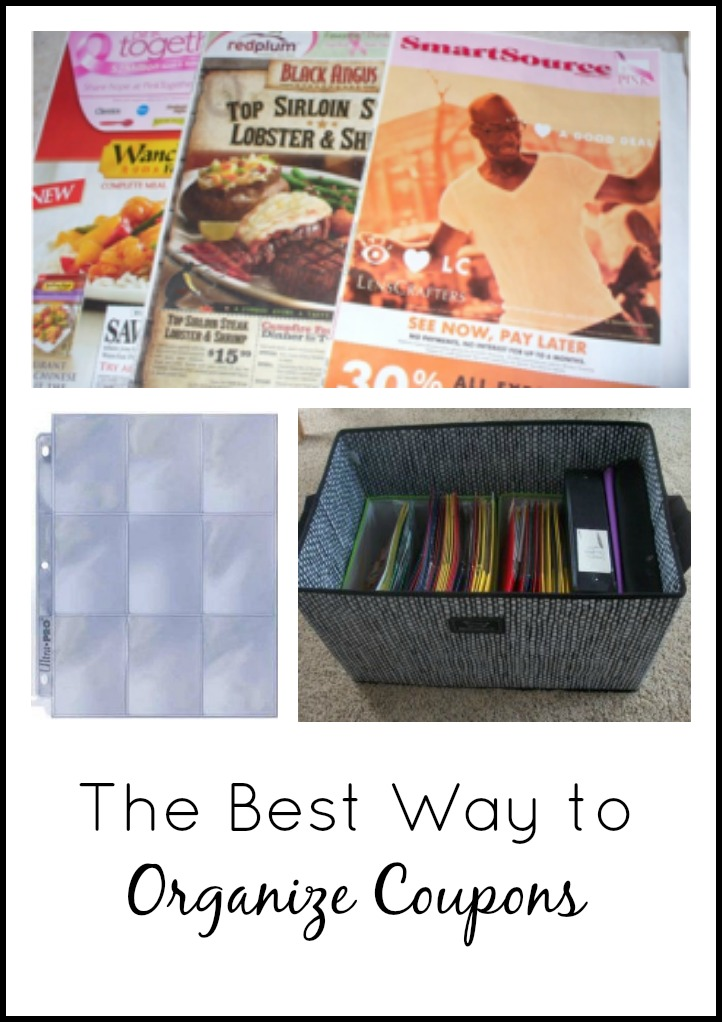 The Best Way To Organize Coupons Coupon Project