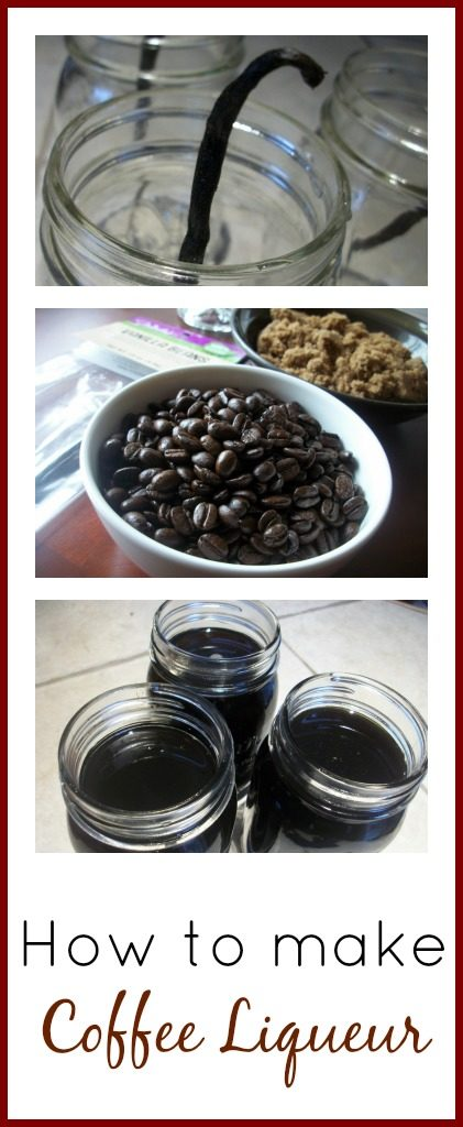How to Make Coffee Liqueuer | The Coupon Project