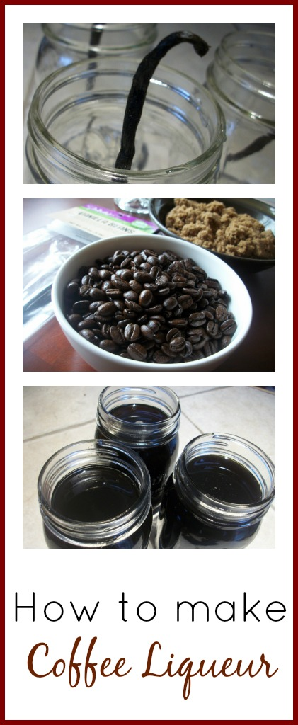 How to Make Coffee Liqueuer   The Coupon Project