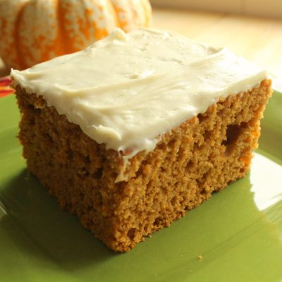 Three-Ingredient Pumpkin Spice Cake Recipe