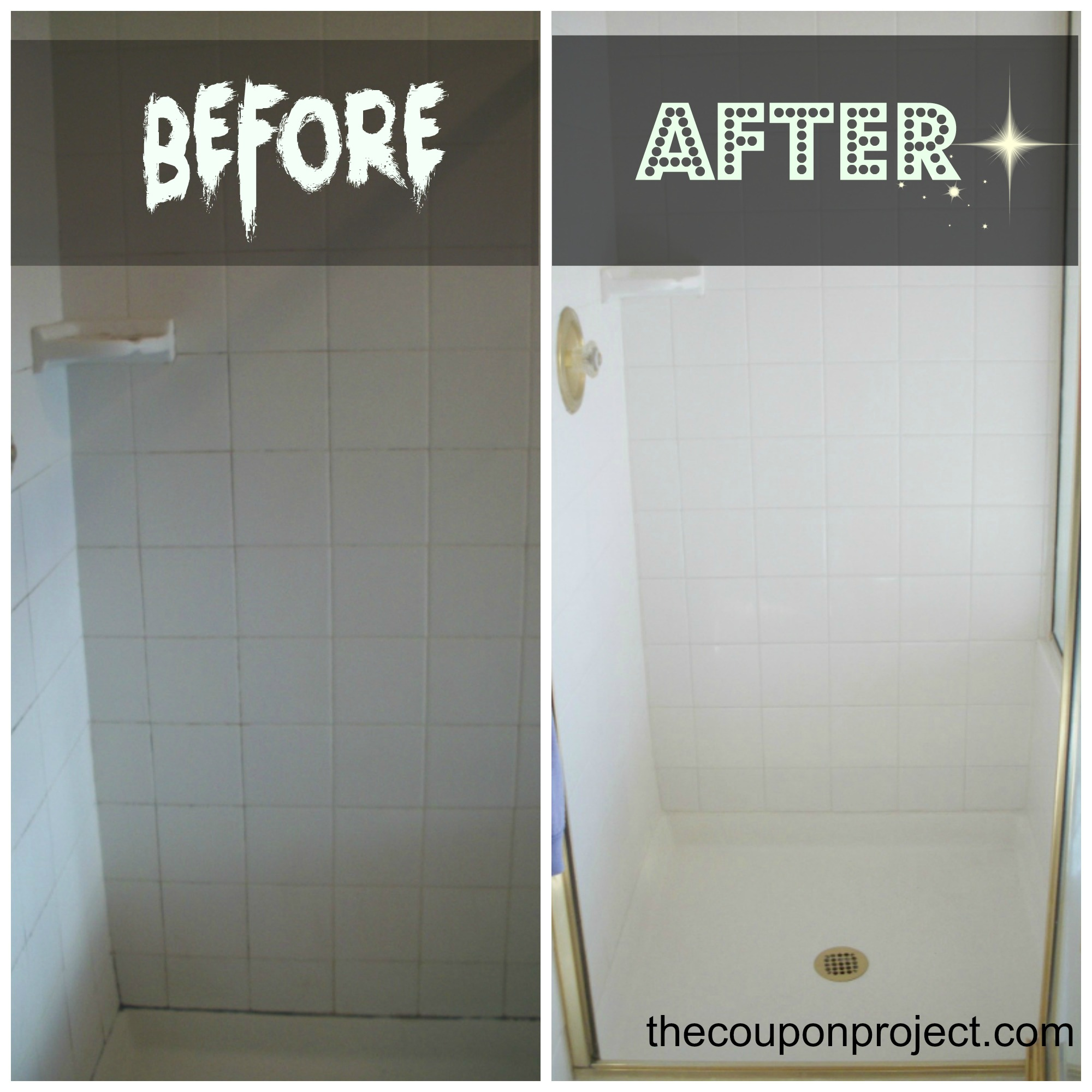 Bathroom Grout how to re-grout and re-caulk your shower - you can do it!