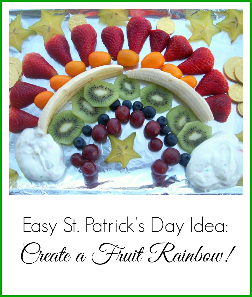 Easy St Patrick's Day Idea: Create a Fruit Rainbow | The Coupon Project