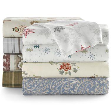 GONE JCPenney $8 40 Twin Twin XL Flannel Sheet Set
