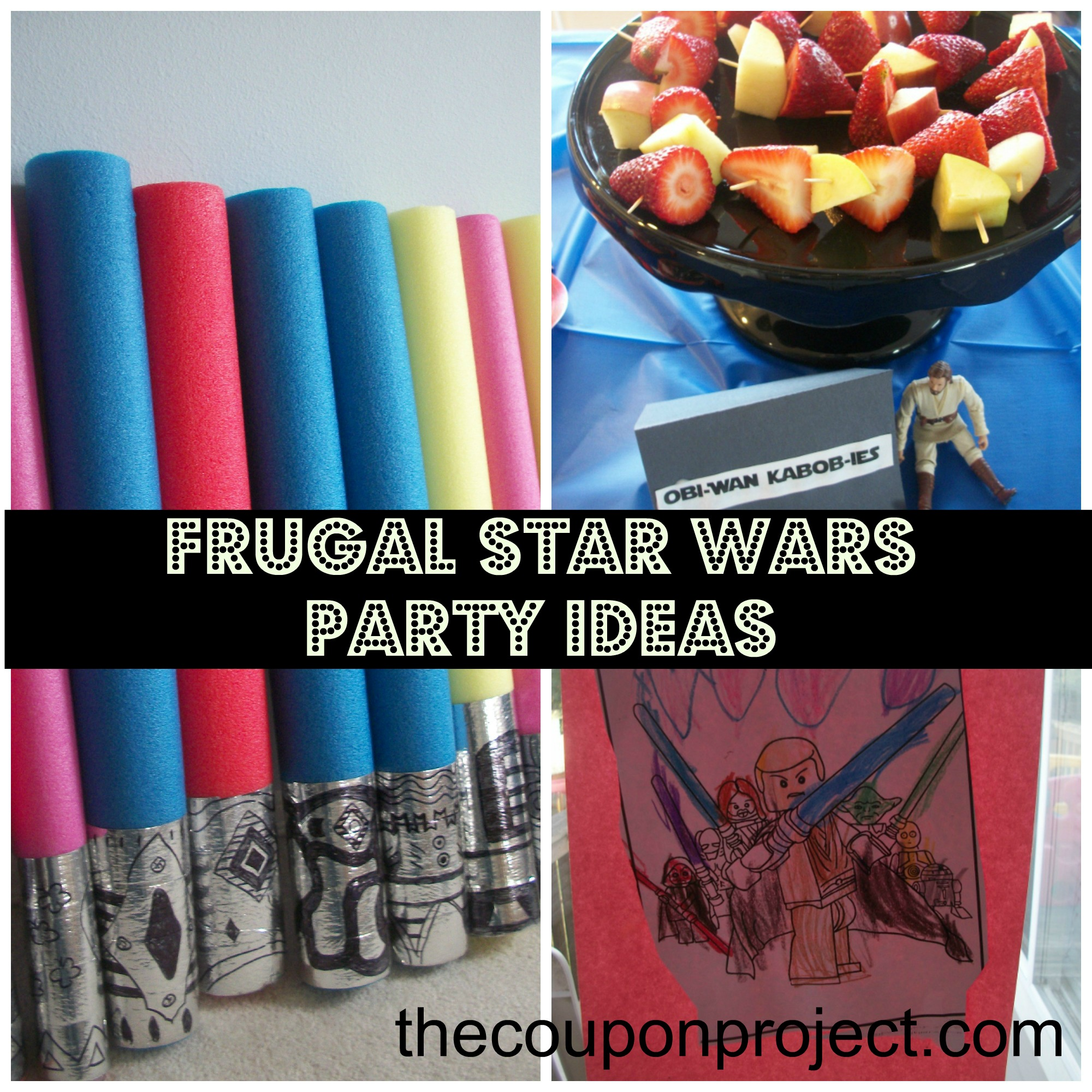 Frugal Star Wars Party Ideas