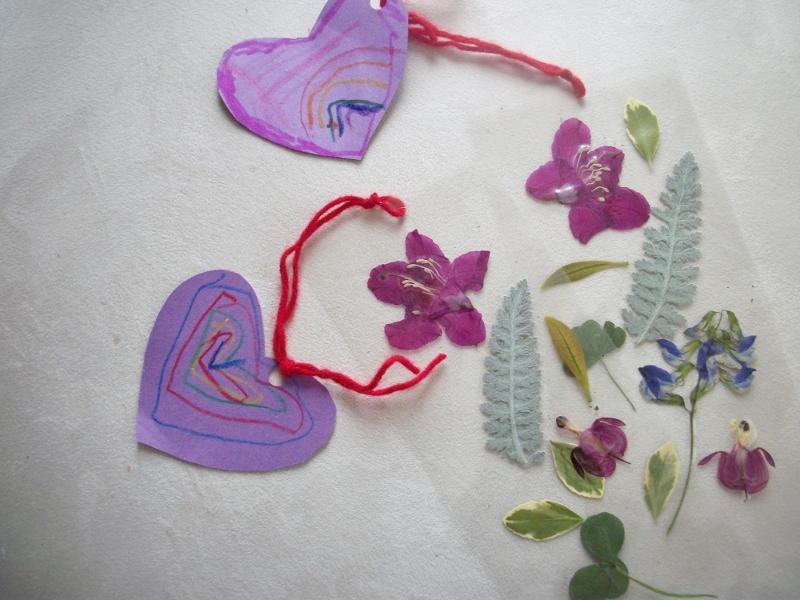 microwave pressed flower tutorial bookmarks