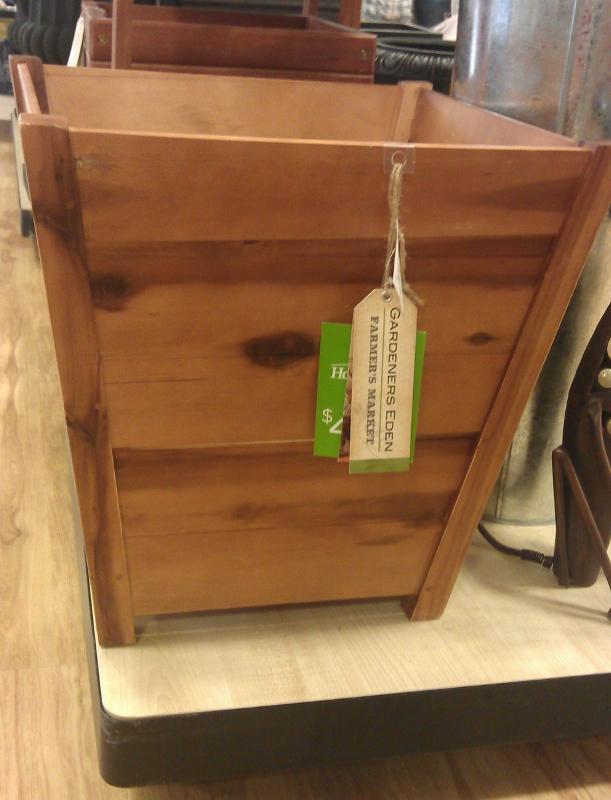 Frugal Gardening Diy Planter Box For 20