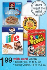 Walgreens: Cocoa or Fruity Pebbles for $0.99
