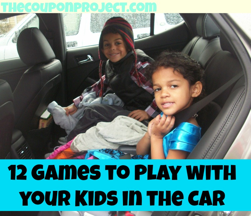 12 Games to Play with your Kids in the Car | The Coupon Project