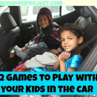 12 Fun No-Supplies Games to Play with your Kids in the Car