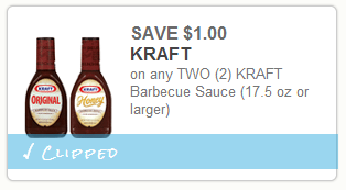 Kraft BBQ Printable COupon