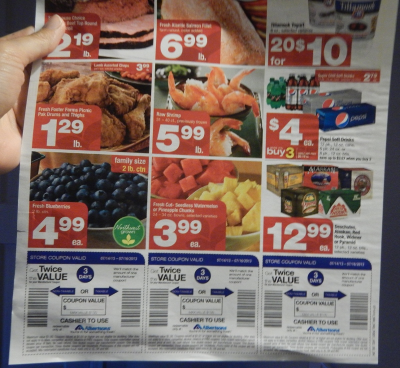Albertsons Twice the Value Coupons