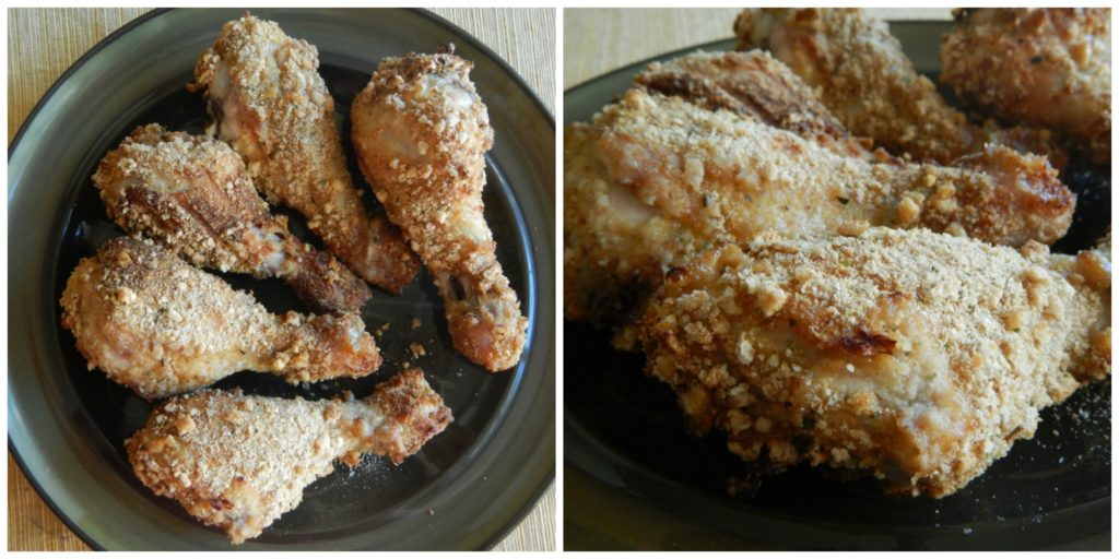 Easy Crispy Oven Fried Chicken