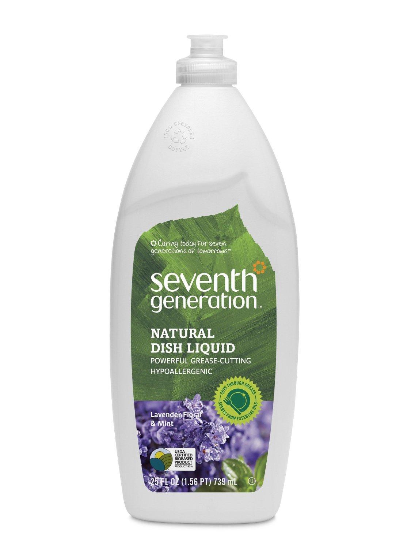 Seventh Generation Dish Soap: $1.53/bottle shipped