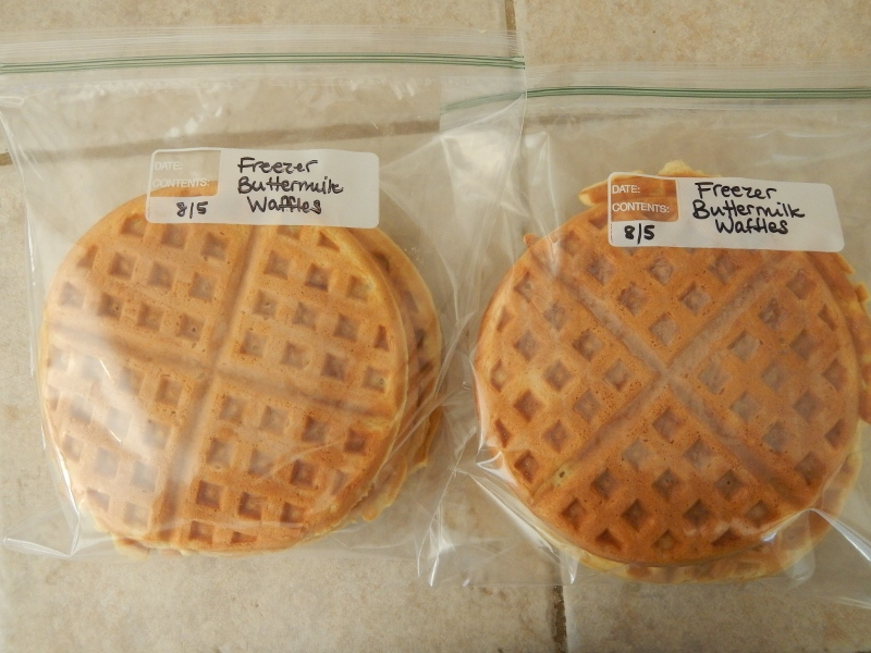 Homemade Freezer Waffles | The Coupon Project