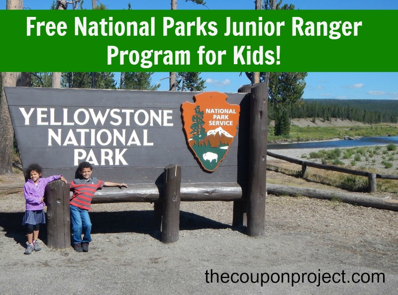 Free National Parks Junior Ranger Program for Kids | The Coupon Project