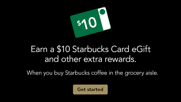 Starbucks: Earn a $10 eGift Card with Bagged Coffee Purchase