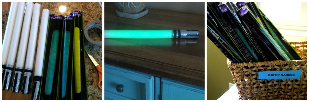 How to make Party Lightsabers