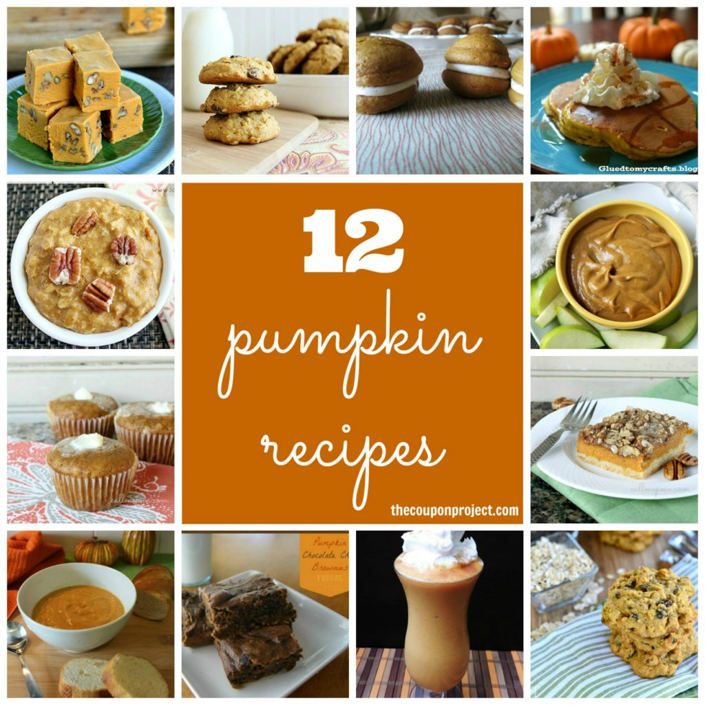 12 Pumpkin Recipes | The Coupon Project