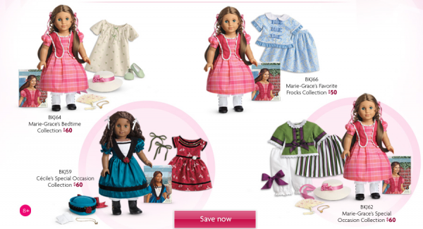 American Girl Jill Steals and Deals