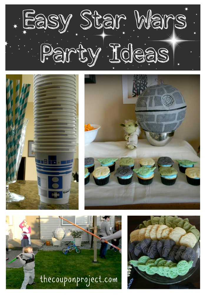 Easy Amp Frugal Star Wars Themed Party Ideas
