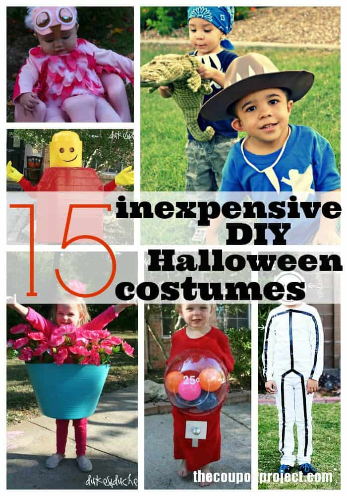 DIY Frugal Halloween Costumes  sc 1 st  The Coupon Project & DIY Halloween Costumes