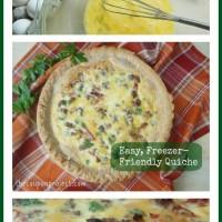 Easy, Freezer-Friendly Quiche Recipe