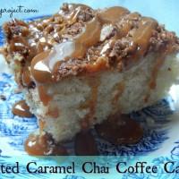 Trader Joe's Recipes: Salted Caramel Chai Coffee Cake