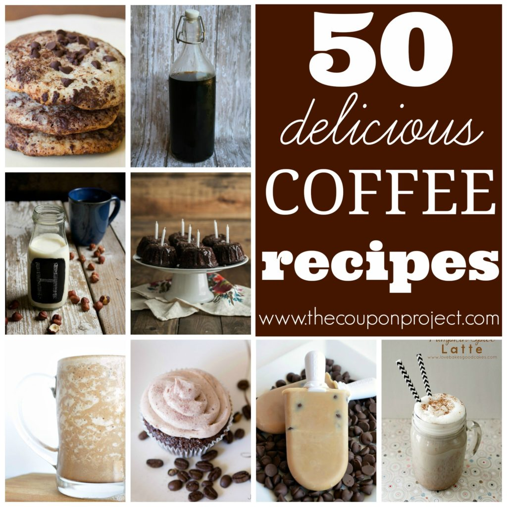 50 Delicious Coffee Recipes | The Coupon Project
