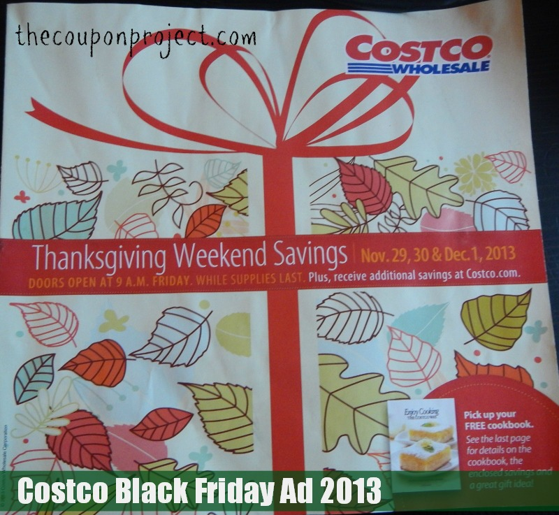 Costco Black Friday Ad Scan 2013