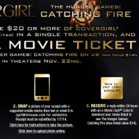 Covergirl Hunger Games Rebate