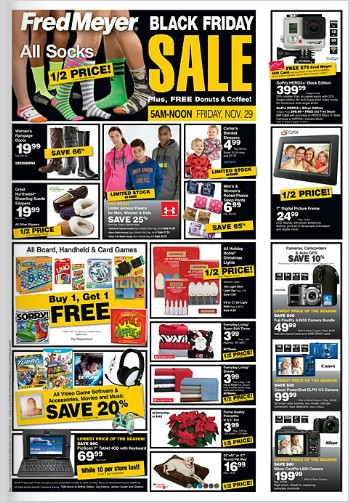 Fred Meyer Black Friday Ad 2013 Doorbusters