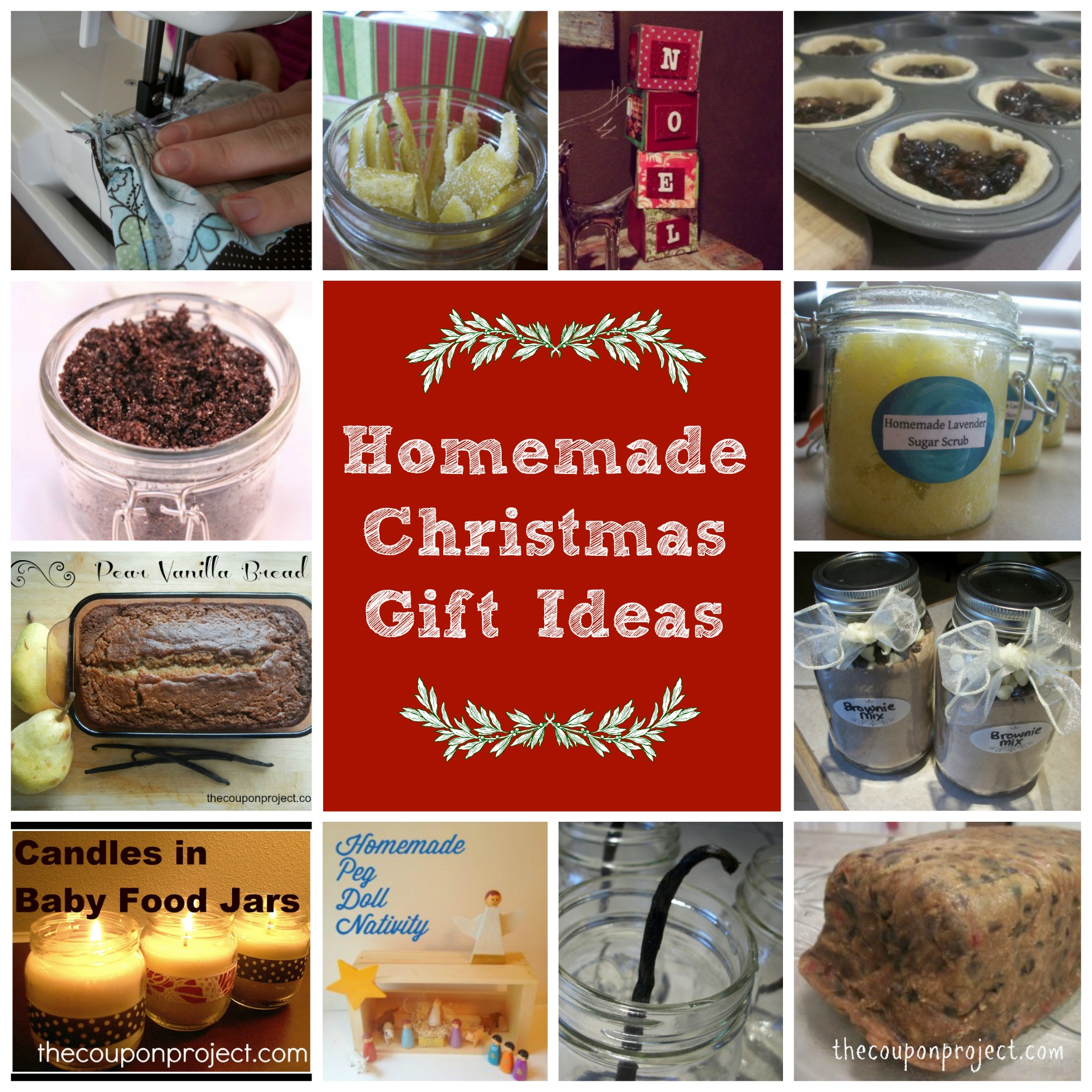 Homemade Gift Ideas: Homemade Christmas Gift Ideas