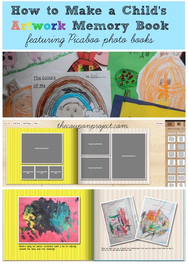 How to Make a Child's Artwork Memory Book