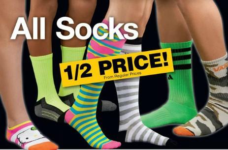 Fred meyer black friday 2013 half price socks