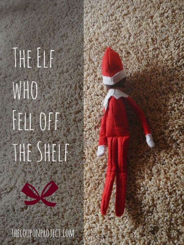 The Elf who Fell off the Shelf