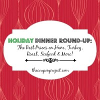 Best Prices on Holiday Dinner - Ham, Turkey, Roast, Seafood